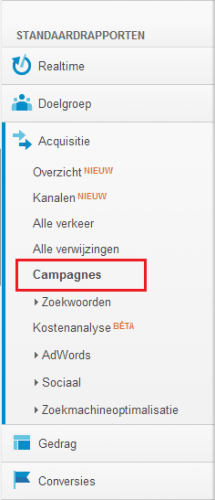 campagnes rapport